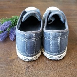 Converse Shoes - Jack Purcell Converse Slip On Laceless W 7.5 Blue